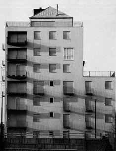 Mario Asnago - Claudio Vender, Residential Building, Via Faruffini 6, Milan, Italy, 1954