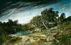 La rafale de vent, par Gustave Courbet