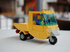 Ape Car from gm Brickshelf