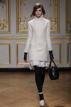 long sweater glimpse skirt maiyet