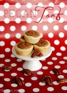 Mini Pecan Tarts {Christmas Tradition Series}