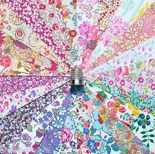 """24 Liberty Lawn fabric 5"""" Patchwork Charm Squares *SPRING BLOSSOM* - 2"""