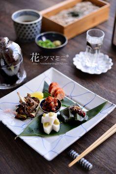 「新蕎麦とおつまみ」 - 花ヲツマミニ