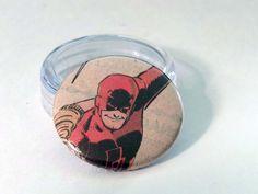 Comic Book 1.5 Button// Daredevil, $1.00
