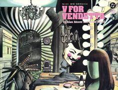 Cinque frasi tratte da V for Vendetta, il fumetto di Alan Moore