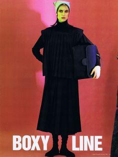 Melanie Gayle shot by Monty Coles for VOGUE Australia February 1986 | VogueSpirit scans