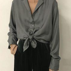 Wear Pajamas as daywear. #BeOakandFort Blouse H322 Necklace 2289 Nude mesh top H302 Pant 1560 Shop the Look | Link in Bio #Regram via @oakandfort