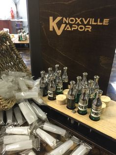 FLAVORS!  Over 200+ Flavors, 28 National Brands and all Made in the USA!  Come on by, take your time and try them all!  We'll be here for you at...  Knoxville's & Sevier's Finest!  #knoxvillevapor #knoxvillevaporpigeonforge #knoxvillesfinest #seviersfines