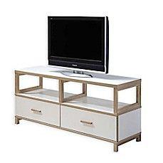 Intercon Furniture Lifestyles Studio Living TV Stand in White