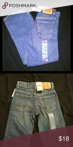 New boys Levi's Relaxed straight 7x slim, brand new with tags Levi's Bottoms Jeans