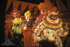 Killer Klowns from Outer Space (1988) i have totally seen this cant say i remember anything about it though