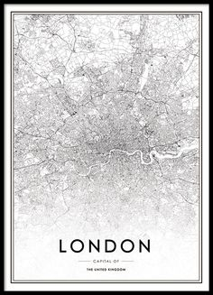Prints & posters with maps | Worldmap | Desenio.co.uk