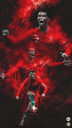 Cristiano Ronaldo - My Wallpaper Cristiano Ronaldo 7, Messi And Ronaldo, Neymar Vs, Cr7 Messi, Cristiano Ronaldo Hd Wallpapers, Cr7 Wallpapers, Ronaldo Football, Football Pics, College Football
