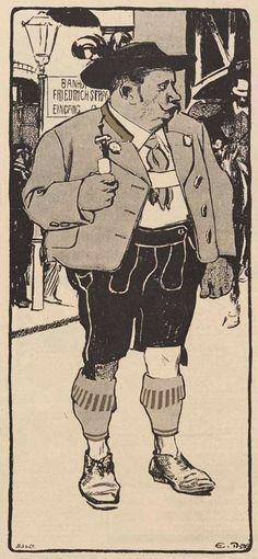 Illustration s'il vous plaît: Eduard Thöny