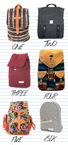 A range of lovely backpacks from fair trade cotton and manufacturing. See www.letsbefairblog.com for details. #fashiontakesaction