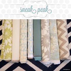 HGTV home fabric from Jo-Ann's
