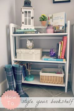 How to style your bookcases