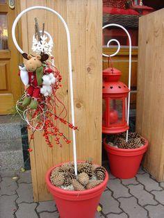 Vánoce 2007 | Květiny Petr Matuška Brno - dekorace, floristika, řezané květiny, svatební kytice