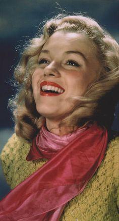 early Marilyn, she's glowing