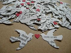 confetti from the pages of our favorite books.