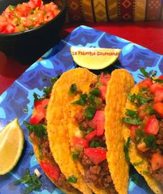 Taco Tex Mex à la Viande Hachée