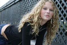 Earrings are cool. | How To Take A Glamour Shot Like Teenage Taylor Swift