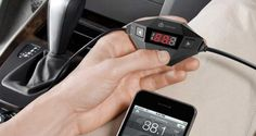 $16 (67% off) – iClever FM Transmitter with USB Car Charger