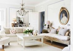 4 Admired Tips: Shabby Chic Living Room Furniture shabby chic house ideas.Shabby Chic Chambre Diy shabby chic home colors. Baños Shabby Chic, Cocina Shabby Chic, Estilo Shabby Chic, Shabby Chic Interiors, Shabby Chic Homes, Shabby Chic Kitchen, Swedish Interiors, White Interiors, Shabby Vintage