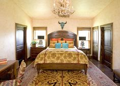 Ranch Master Bedroom walls and ceiling  by NCF Studio