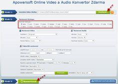 Online Video a Audio Konvertor