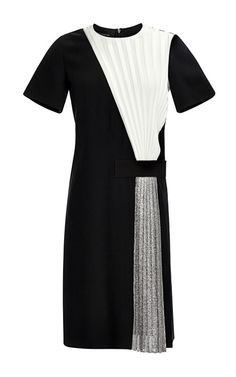 Satin Dress by Cédric Charlier - Moda Operandi
