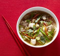 Vietnamese Chicken Noodle Soup #healthy #comfortfood #soup #vietnamese