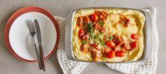 Uunimakkaravuoka   Pääruoat   Reseptit – K-Ruoka Vegetable Pizza, Quiche, Dinner, Vegetables, Breakfast, Koti, Foods, Breakfast Cafe, Food Food