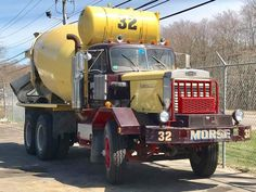 Millions of Semi Trucks Mack Trucks, Dump Trucks, Old Trucks, Heavy Duty Trucks, Heavy Truck, Concrete Mixers, Mix Concrete, Cement Mixer Truck, Model Truck Kits