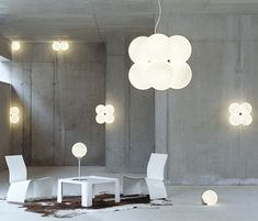 Wall lights in plastic | Floor lights | Molecular_Light | next. Check it out on Architonic