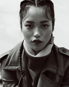 braided beauty… Seon Hwang for Marie Claire Korea, November 2014