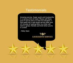 Thank you for sharing your experience with us at, Top Locksmith Service. #Locksmith #LocksmithServices #Maryland #Baltimore #WashingtonDC #Commercial #Residential #Automotive #Emergency #Locksmiths #24HourLocksmith #BestLocksmithinMD #BestLocksmithinDC