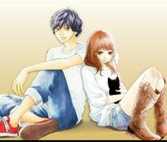 anime ao haru ride