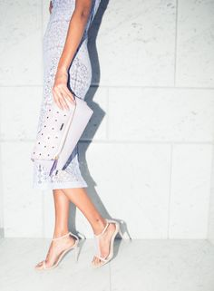 All-lavender-everything. @Burberry http://www.thecoveteur.com/malaika-firth/