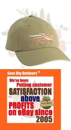 37200f478e8 Hats and Headwear 159035  Sitka Gear Ball Cap Hat Moss New 90101-Ms-