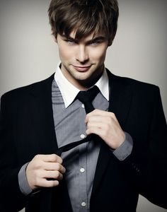 Chase Crawford... I believe would be a perfect Christian Grey! Yummy