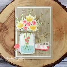 The Stamping Blok: Just Add Ink #324 - Stampin' Up! Jar of Love Inspiration   Rochelle Blok