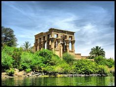 Nubian Monuments from Abu Simbel to Philae. This outstanding archaeological area contains such magnificent monuments as the Temples of Ramses II at Abu Simbel and the Sanctuary of Isis at Philae