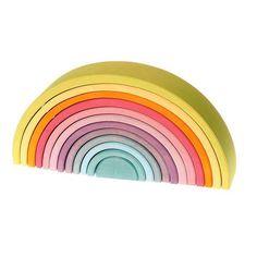 Extra Large Pastel Rainbow