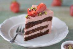 joghurtos eper (vagy málna) torta minimális kalóriával Nyári ünnepekre, vagy csak úgy... - 100fok Superfood, Tiramisu, Cooking, Ethnic Recipes, Kitchen, Tiramisu Cake, Brewing, Cuisine, Cook
