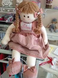 Resultado de imagem para boneca de pano com moldes