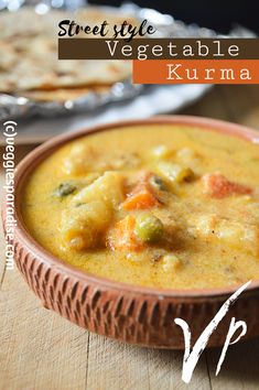 A versatile side dish served with almost all Indian main courses Kurma Recipe, Recipe Please, Main Courses, Cheeseburger Chowder, Cooker, Side Dishes, Paradise, Indian, Vegetables