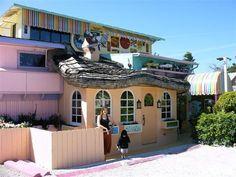 Captiva, Florida. The Bubble Room restaurant.