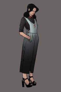 chrispandart:  Marvel Fashion Design n°9: Cindy Moon aka Silk (so Far one of my favorite i draw) Find her on my artbook and go help me make that book real https://www.kickstarter.com/projects/1741342043/kicking-ass-and-wearing-heels-the-fashion-art-of-c