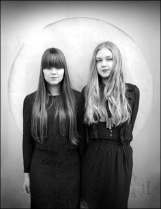 First Aid Kit band, they are so beautiful, their music is pure. They have incredible sense of style. The taught me to experience the purity that exists.